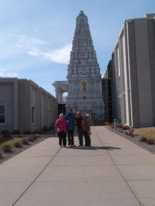 A visit to the Hindu Temple in Maple Grove